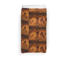 Stonehenge from Above by Sarah Kirk Duvet Cover