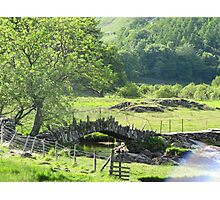 Flint Bridge Little Langdale Photographic Print