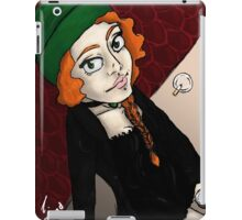 Cat on the hot tinroof iPad Case/Skin