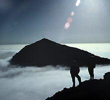 Snowdon Cloud Inversion by photobymdavey