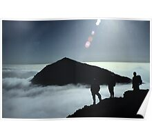 Snowdon Cloud Inversion Poster