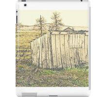 Fenced In And Yellow  iPad Case/Skin