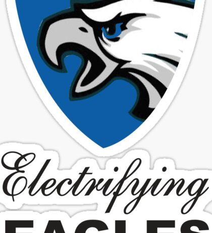 Electrifying Eagles Sticker