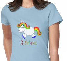 I believe in unicorns 2 Womens Fitted T-Shirt