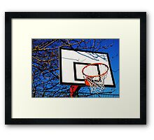 Slam Dunk Framed Print