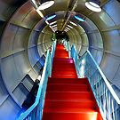 Red stairs by bubblehex08