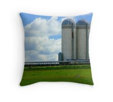 Skyscrapers of the Prairie-Luverne, Mn Throw Pillow