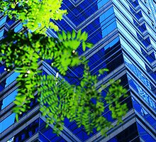 Philly Blue and Green by Thad Zajdowicz