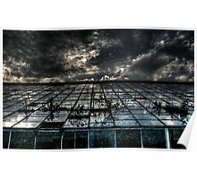 Abandoned Greenhouse - HDR Poster