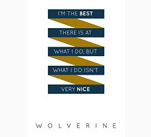 Wolverine Quote Womens Fitted T-Shirt