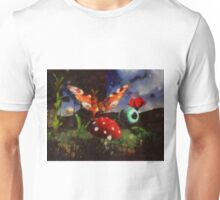 Butterfly Fantasy by Sarah Kirk Unisex T-Shirt