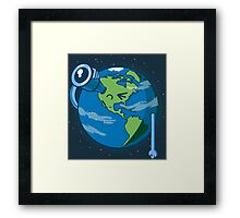 Keep on searching! Framed Print