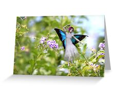 Butterfly Fae Greeting Card