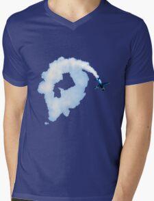 Loop the Loop Mens V-Neck T-Shirt