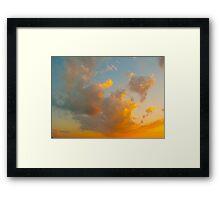 Flying Clouds Framed Print