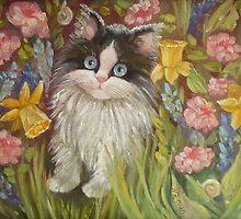 Kitten by Nina Zabrodina