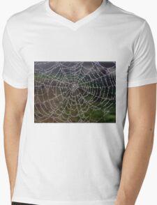 Morning Droplets Mens V-Neck T-Shirt