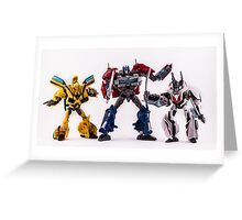Autobots Greeting Card