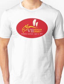 Sticker! Midgar Derby (Oval Version) Unisex T-Shirt
