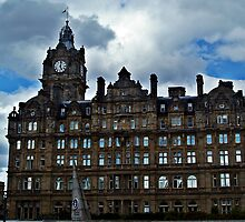 Balmoral Hotel, Edinburgh Scotland. by Aj Finan