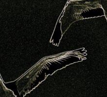 Tandem Swan Light Sticker