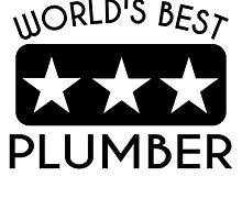 World's Best Plumber by GiftIdea