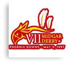 Sticker! Midgar Derby Canvas Print