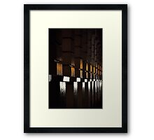 A Golden Glow II Framed Print