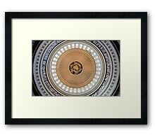 Dome of the US Capitol Framed Print