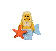 LEGO Mermaid by jenni460