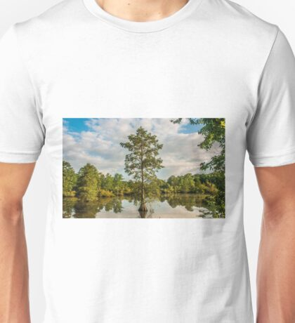 Bald Cypress in the Morning Unisex T-Shirt
