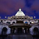 Patriot Dreams - United States Capitol Building at night by MikeJagendorf