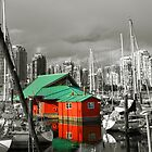 Boat House, Vancouver, BC, Canada by vladiphoto