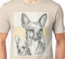 Chihuahua Father & Son (Short-haired) Unisex T-Shirt