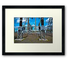 Electricity Distribution Framed Print