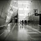 Singapore airport by Laurent Hunziker