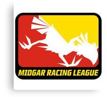 Sticker! Midgar Racing League Canvas Print