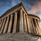 Jefferson Memorial at Sunset by MikeJagendorf