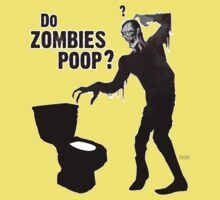 Do zombies poop? Kids Clothes