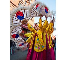Korean Dancers in NYC Photographic Print