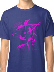Pink booted rackettail hummingbird Classic T-Shirt