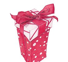 Red Gift Box by Mariana Musa