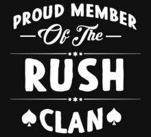 Proud member of the Rush clan! by keepingcalm