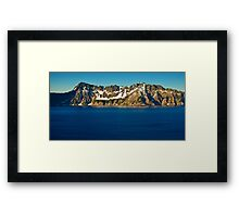 Crater Lake Sunrise Framed Print