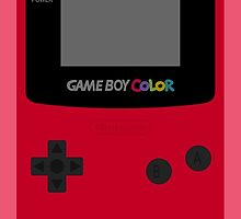 Game Boy Red by wanderingent