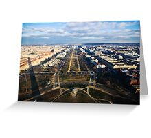 From the Top of the Washington Monument Greeting Card