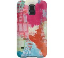Wild and Free - Textured Abstraction Samsung Galaxy Case/Skin
