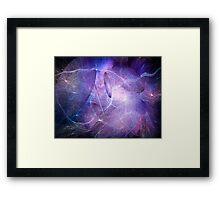 Strings and superstrings Framed Print
