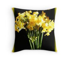 Especially for you. Fresh Spring flowers. Throw Pillow