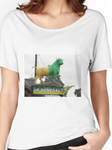 Up Donegal For GAA Finals - Burnfoot County Donegal Ireland . Women's Relaxed Fit T-Shirt